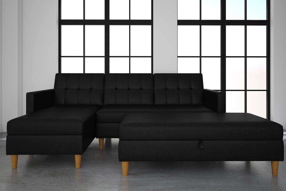 Admirable Cordell Sleeper Sectional With Ottoman Salon Equipment In Lamtechconsult Wood Chair Design Ideas Lamtechconsultcom