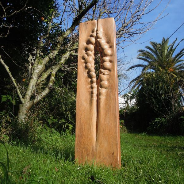 Wood Sculpture Modern Abstract Contemporary Avant Garde