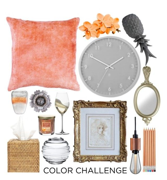 """colorchallenge"" by polinachaban ❤ liked on Polyvore featuring interior, interiors, interior design, home, home decor, interior decorating, Umbra, Pigeon & Poodle, Buster + Punch and LSA International"