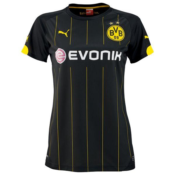 2014/15 Dortmund Women Away Soccer Jersey shirt