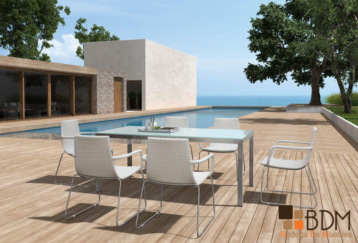 Comedor para exterior muebles para jard n mobiliario para hoteles terrazas piscina - Mobiliario para jardin ...