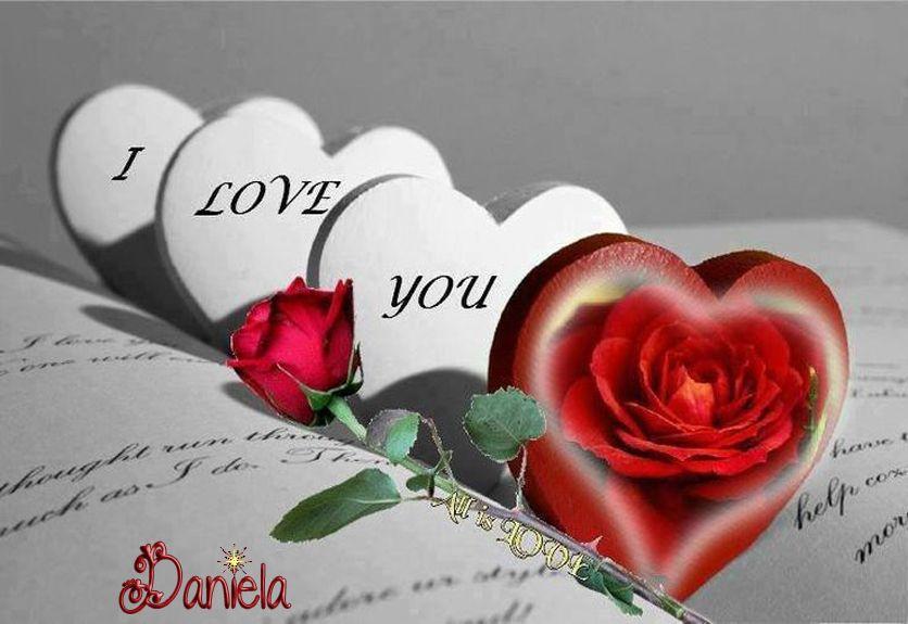 Bonitas Imagenes De Amor De Rosas Y Corazones jjk Pinterest - rosas y corazones