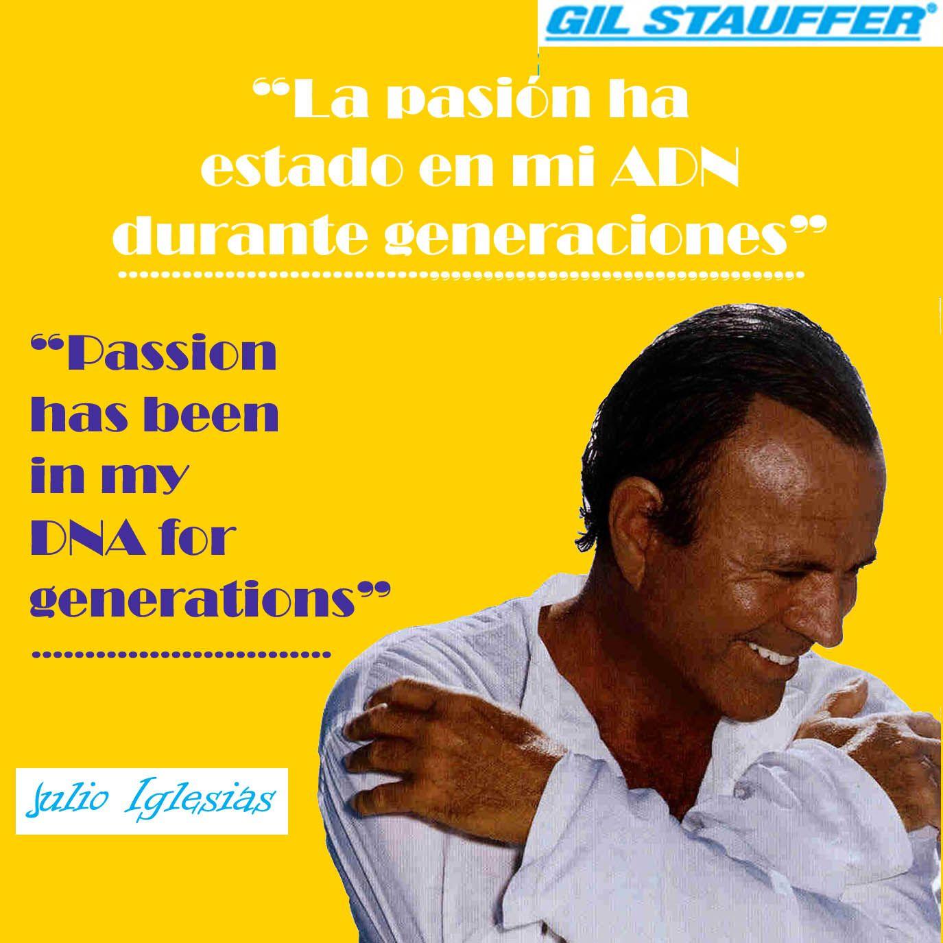 Frase Semanal 50 Diseño De Gil Stauffer Julio Iglesias