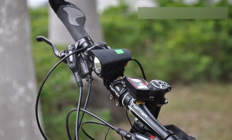 High Quality 6LED Bicycle Head Front Flash Light Warning Light Ride Equipment US