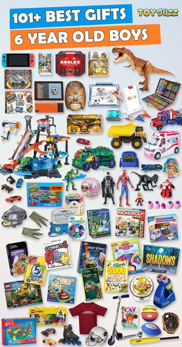 Best Gifts and Toys For 6 Year Old Boys 2019 images