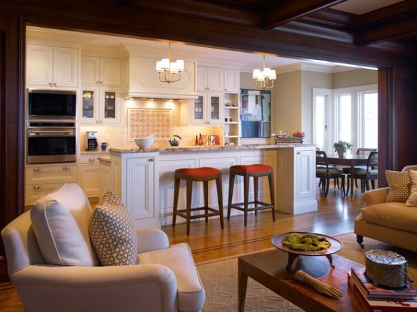 Five Beautiful Open Kitchen Interior Designs Open Concept Kitchen Living Room Kitchen Design Open Open Kitchen And Living Room