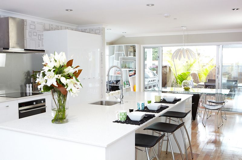 The Block Nz Richard And Sarah's Kitchen  New Homes And Amusing Nz Kitchen Design Design Decoration