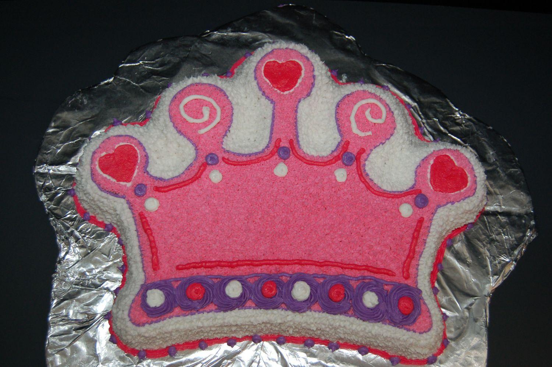Tiara Crown Cake