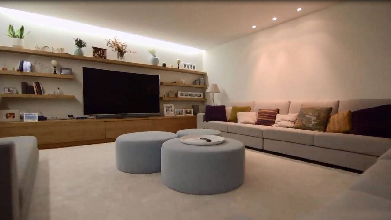El Sal N De Iker Casillas Y Sara Carbonero Living Room  # Muebles Canziani