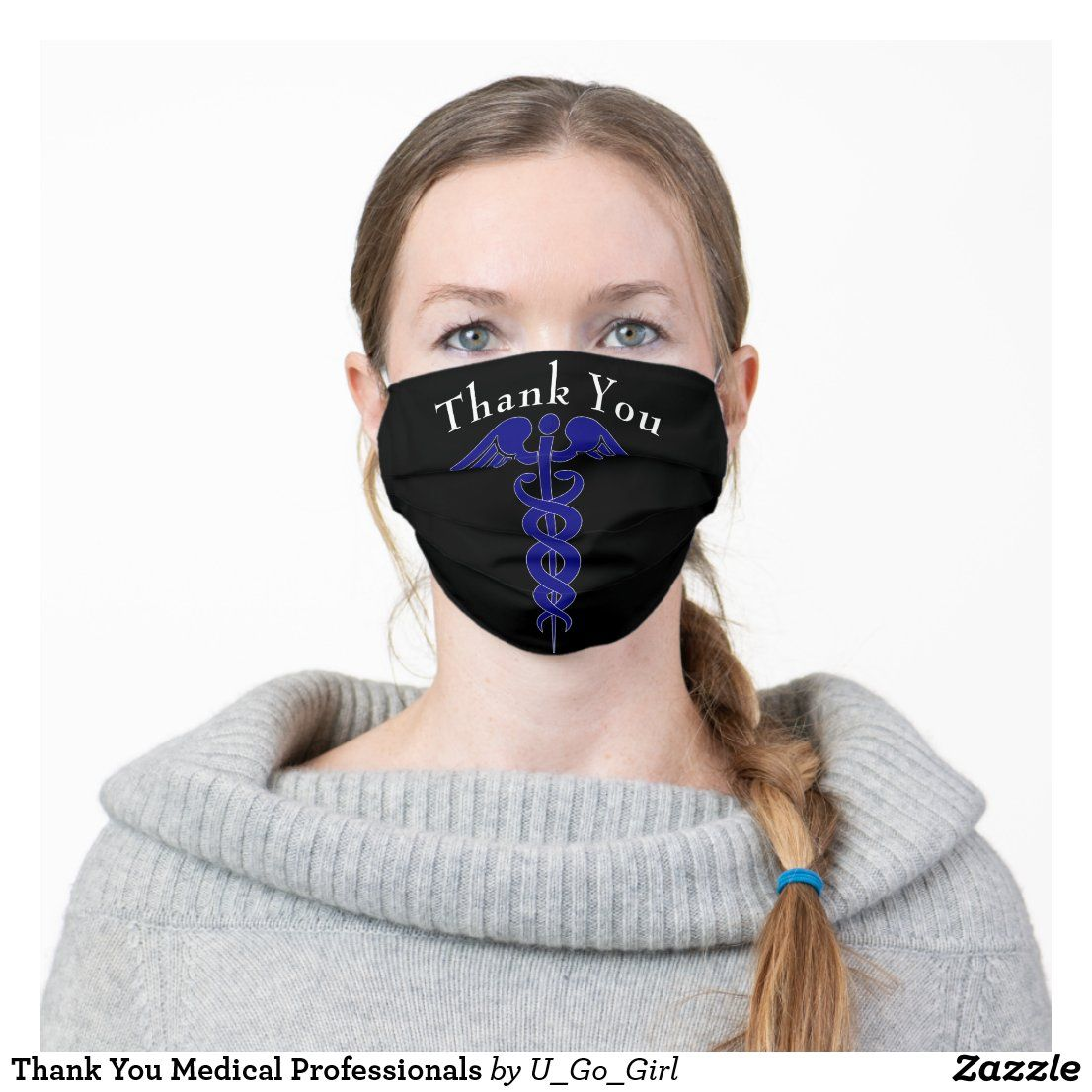 Thank You Professionals Cloth Face Mask in