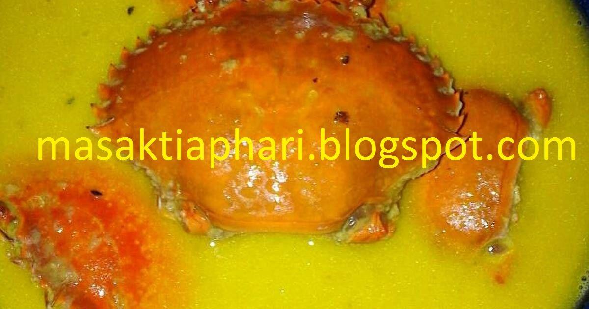 Resep Kepiting Masak Santan Resep Kepiting Resep Kepiting