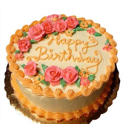 Buy Fresh Orange Cake 1kg Online At Lowest Price