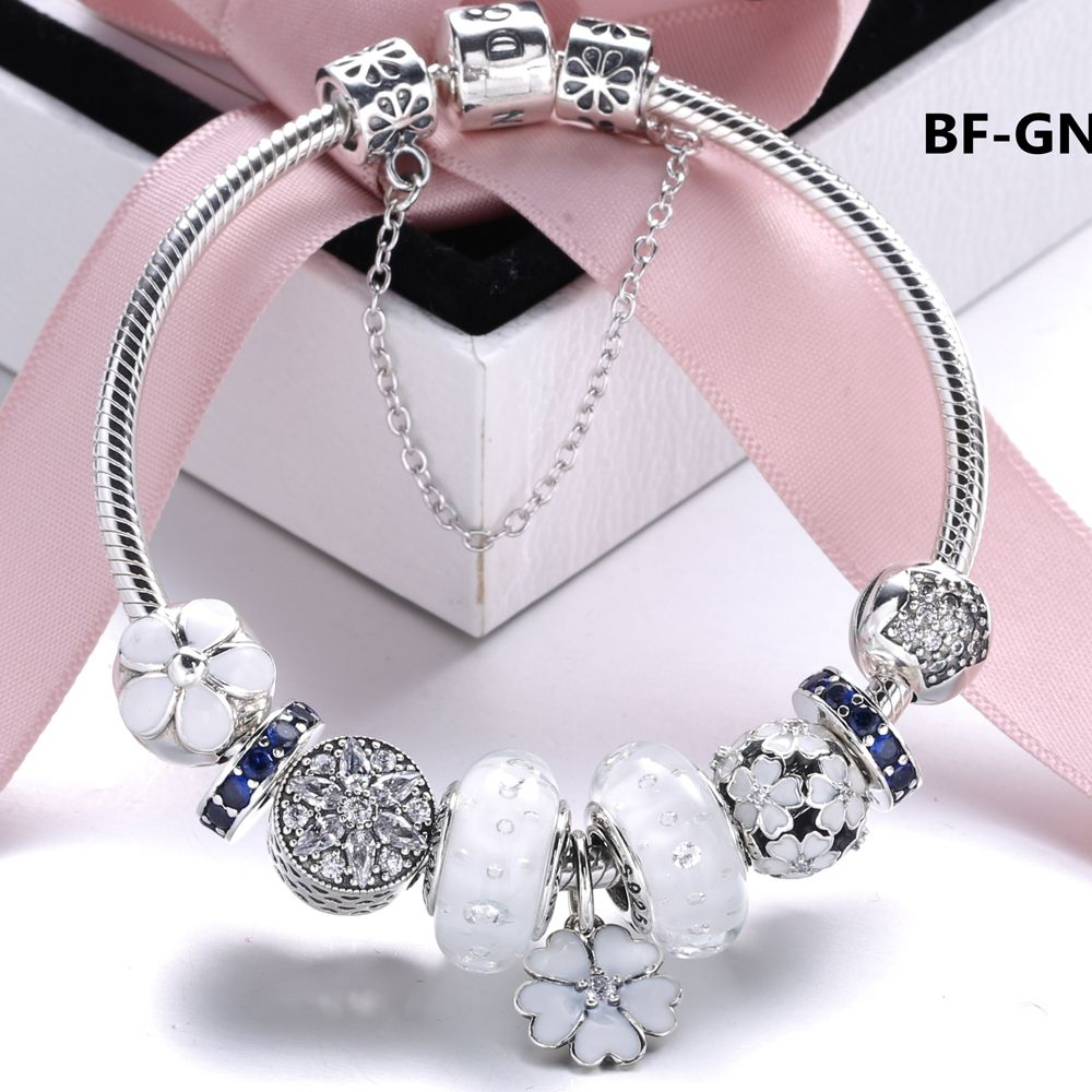 sn:b008 pandora bracelet, women's fashion jewelry, beauty