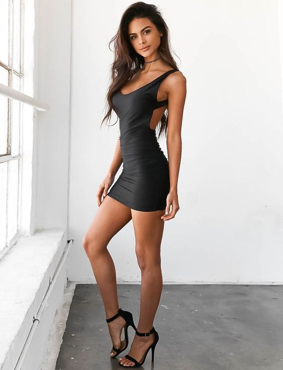 feab8ca8e Little black number.,,,. | New FAVORITES.,,,. in 2019 | Sexy dresses ...