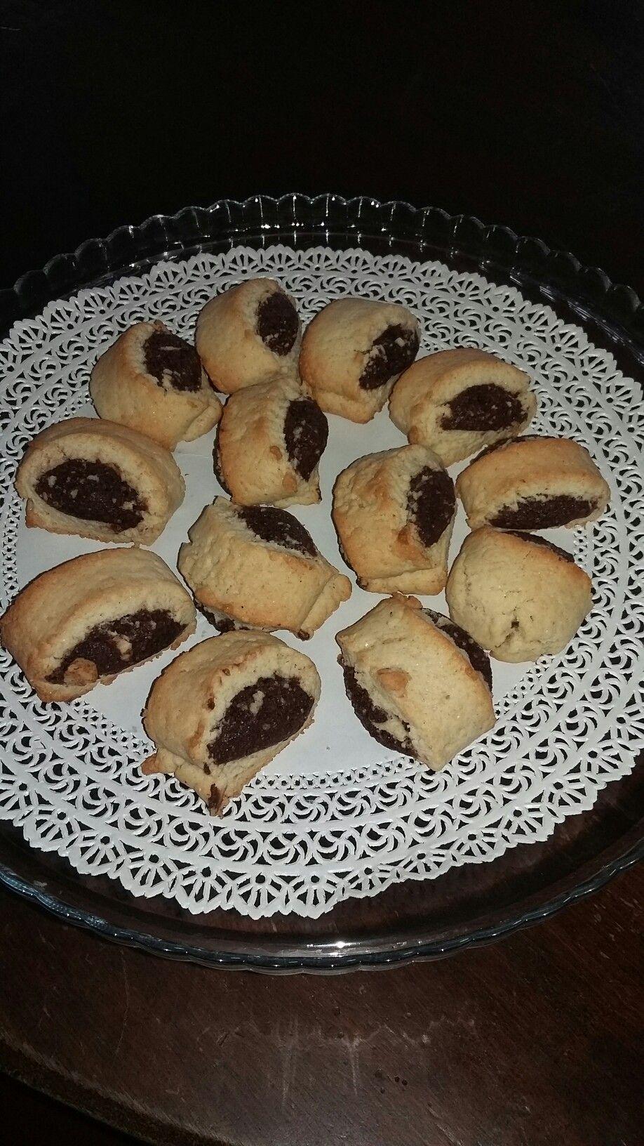Biscotti Di Natale 1 Uovo.Biscotti Ripieni Al Cioccolato Impasto Base 1 Uovo 130 Zucchero 80