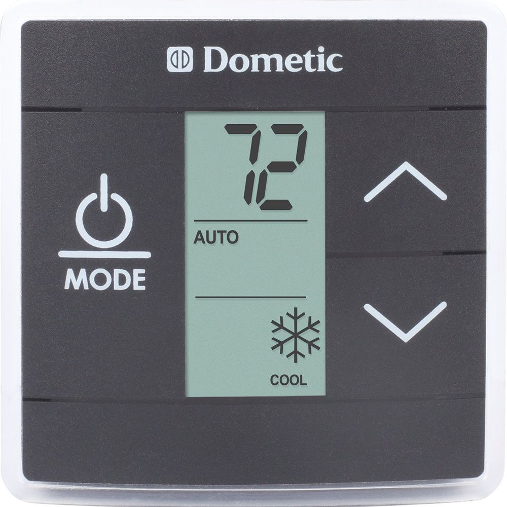 Dometic® Standard CT Thermostat, Black Heating furnace