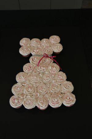 Bridal Shower Cupcake Dress #BridalShower