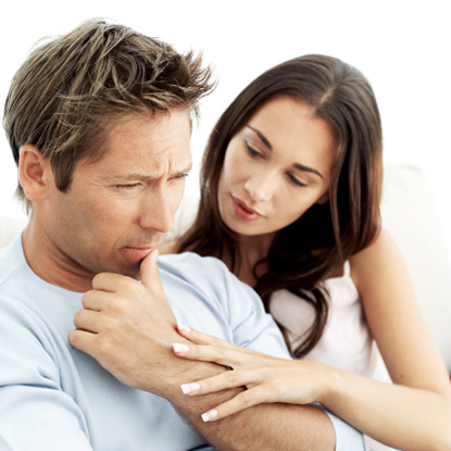 Dating a man with health issues