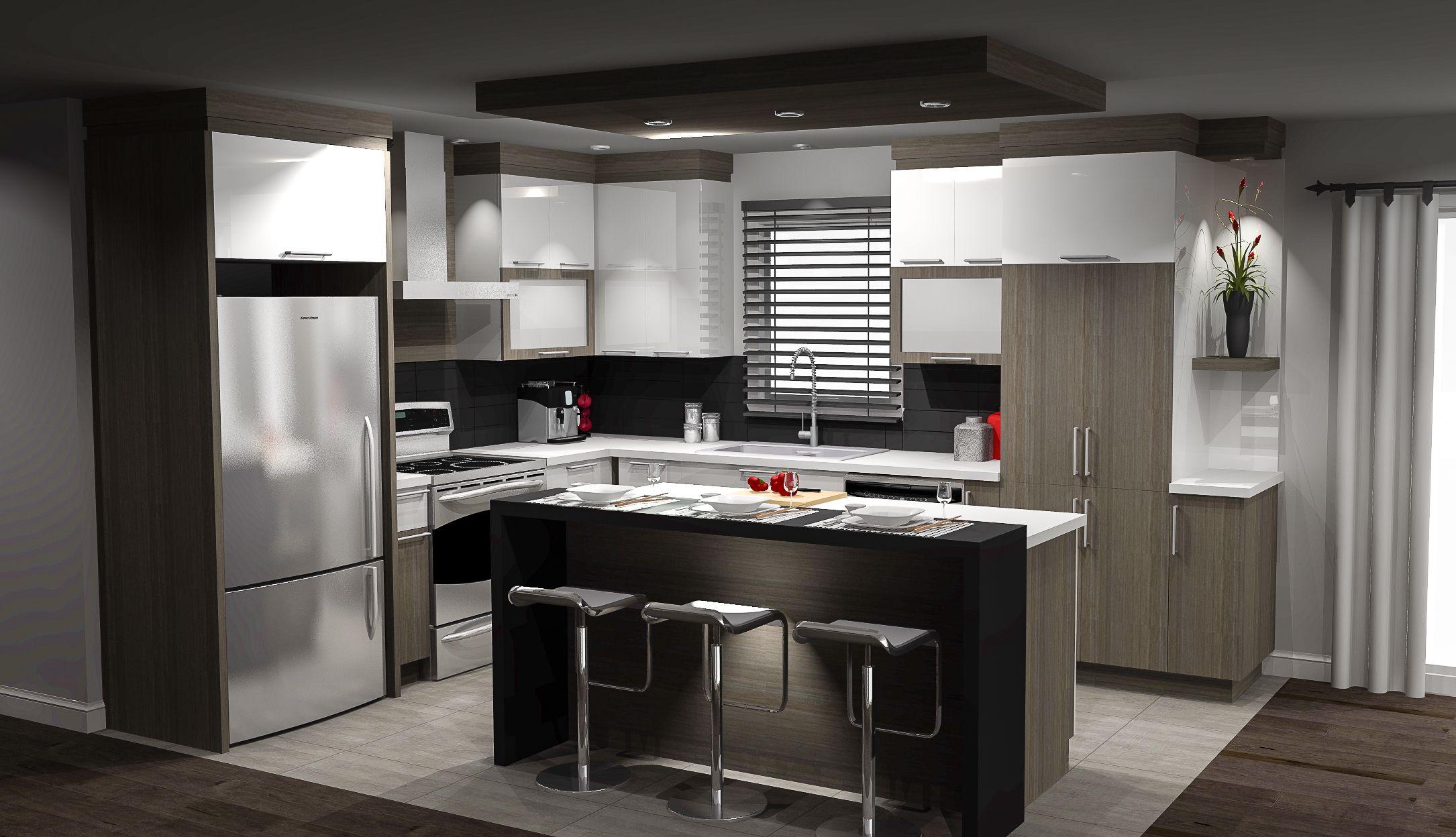 armoires de cuisine cuisine pinterest armoires. Black Bedroom Furniture Sets. Home Design Ideas