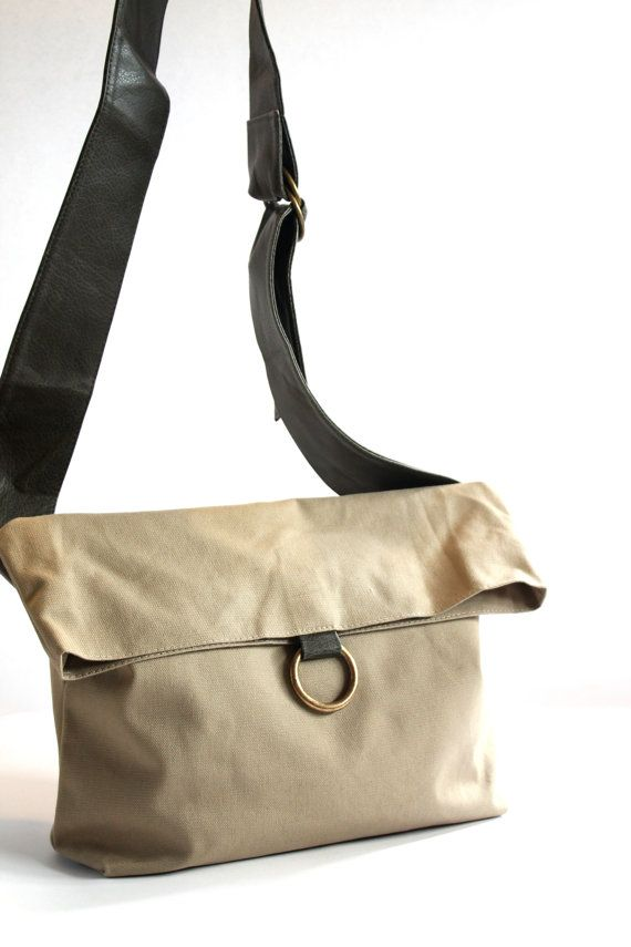 Women Ladies Vegan Canvas Handbag-Canvas