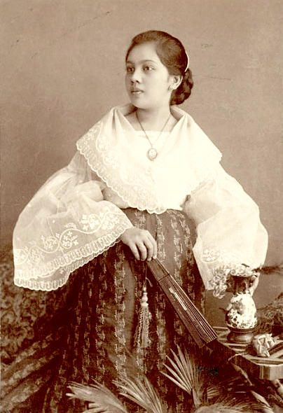 5f4c81e983 Baro t Saya - Maria Clara dress. The Baro t Saya is a traditional Filipino  blouse and skirt for women.