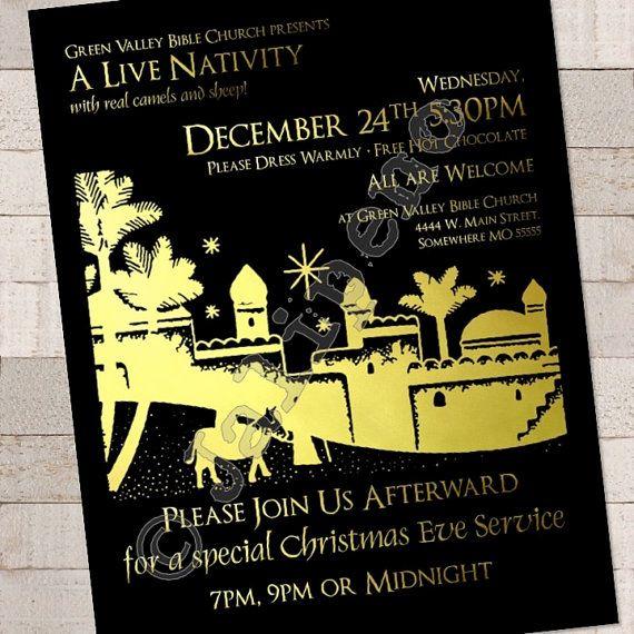 christmas program invite