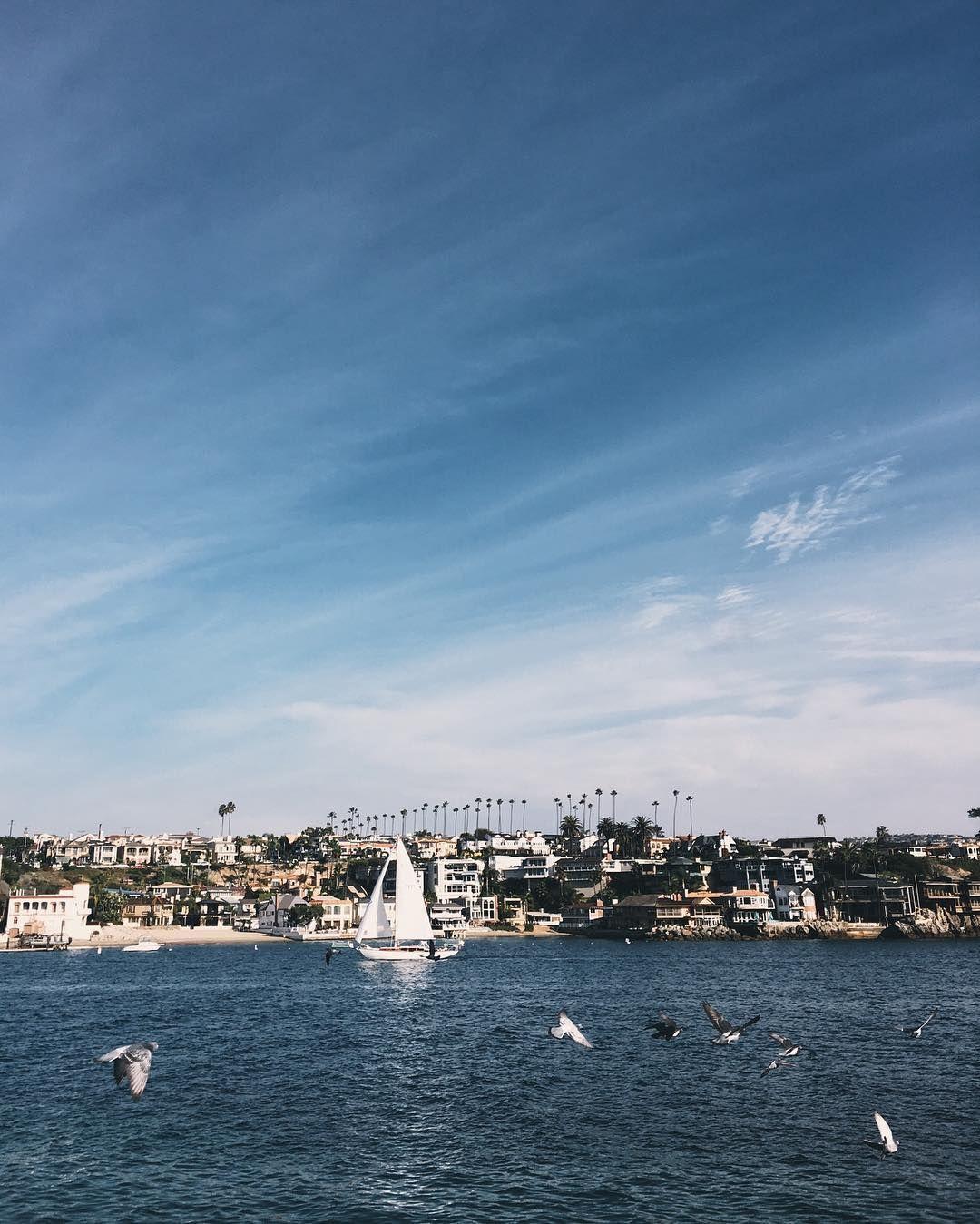 Y mientras por allí ya empezáis a amanecer, por aquí nos vamos a dormir que mañana nos vamos a LA... ¡Buenos días y buenas noches!  #Newportbeach #Californiacbda