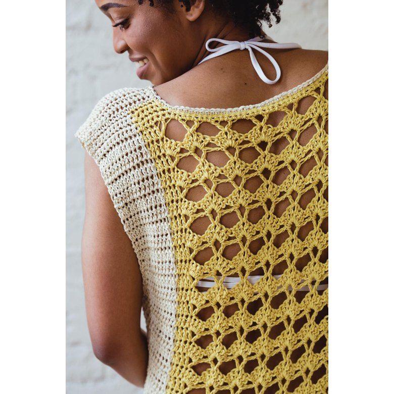 Lemonade Top Crochet Pattern By Toni L Crochet Patterns Crochet Lace Shirt Crochet