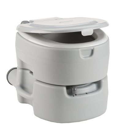 Another great find on #zulily! Large Flush Toilet by Coleman #zulilyfinds
