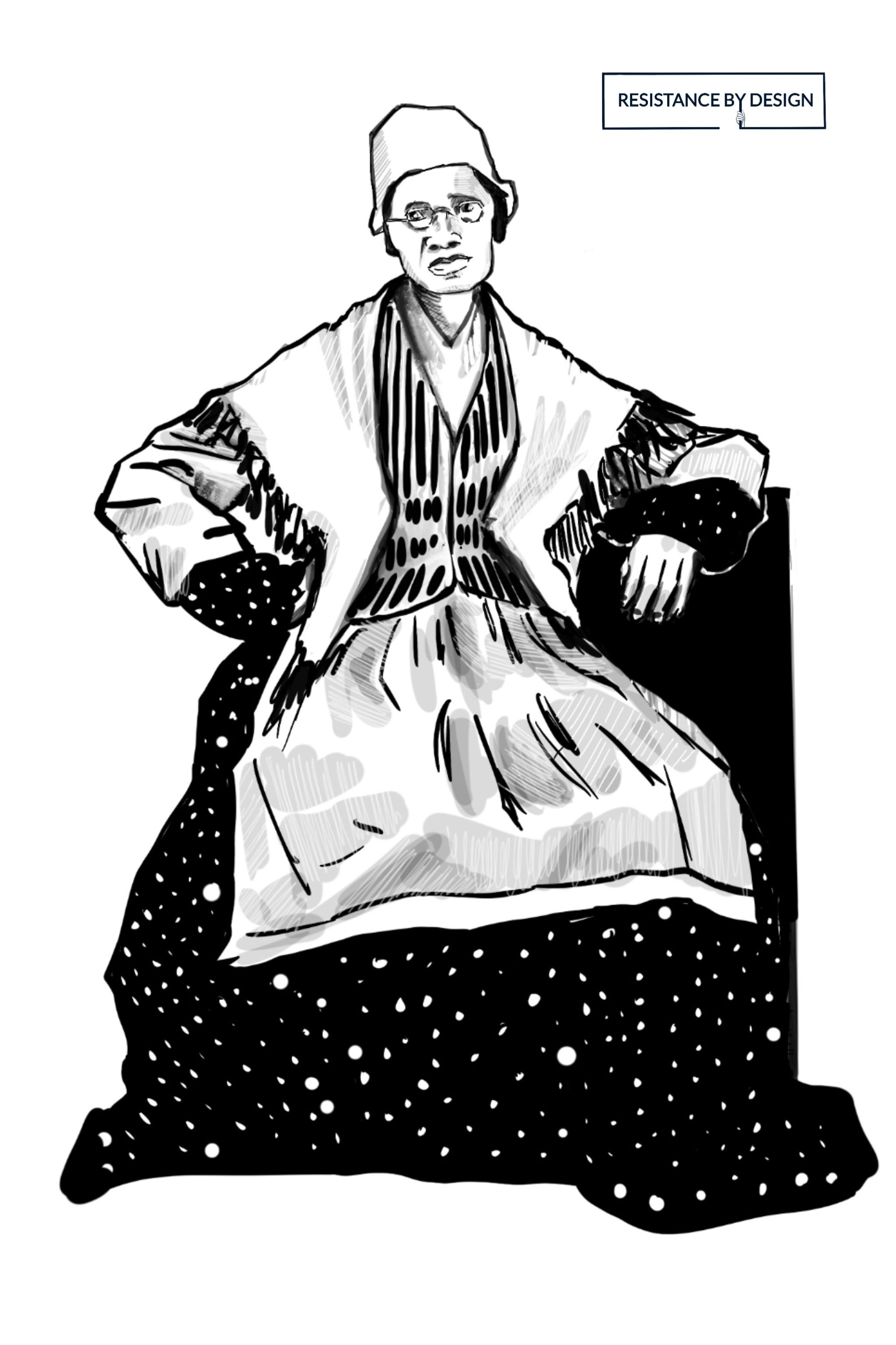 Sojourner truth coloring pages for kids