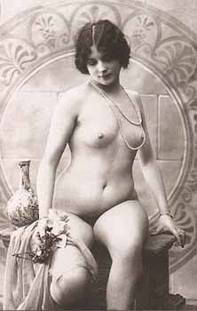 Vintage erotic nude postcards