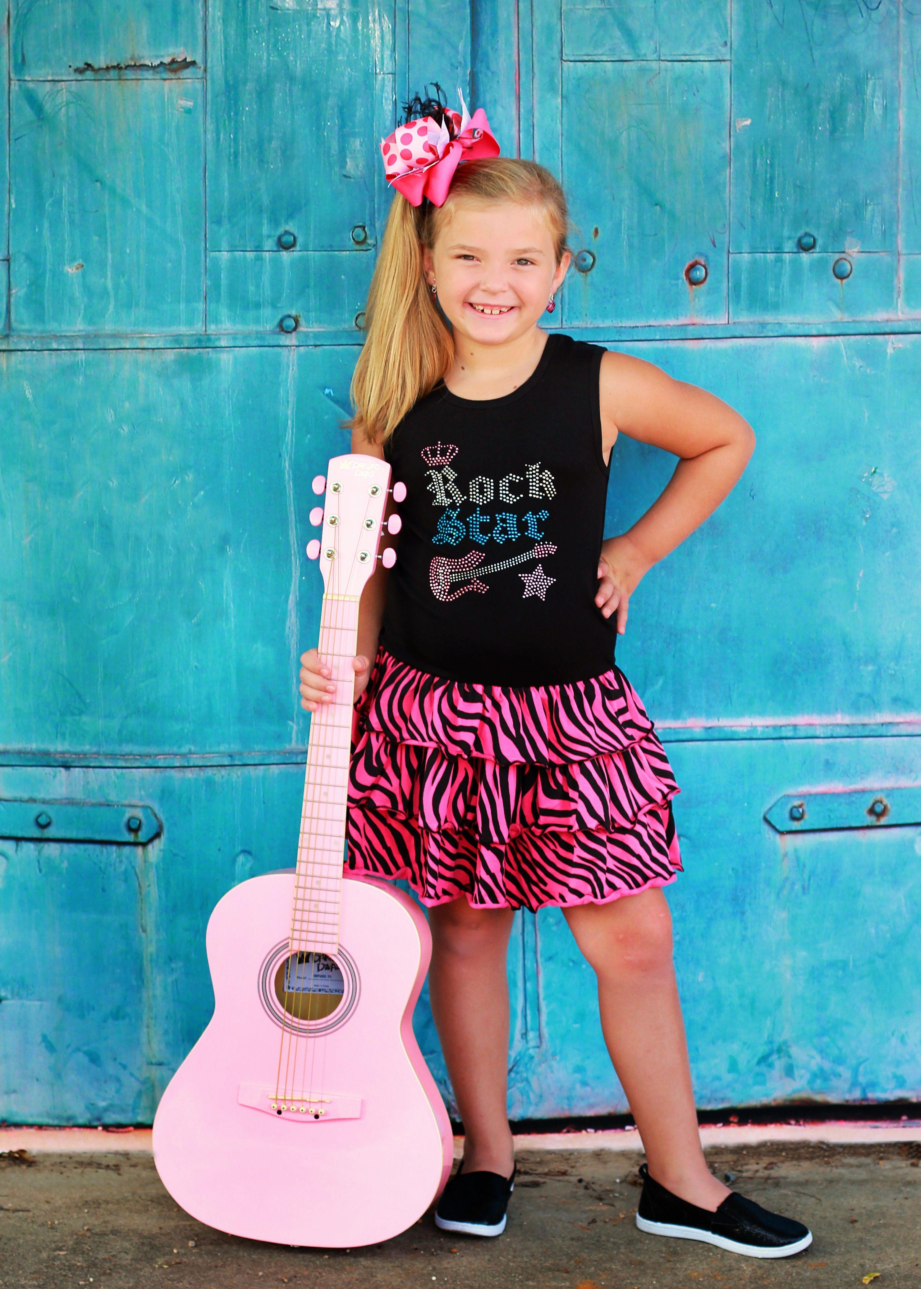 Rock Star Bling Birthday Zebra Print Tutu Ruffle Dress | Zebra print ...