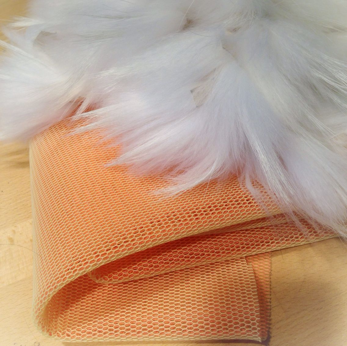 We love the contrast between the soft fur and technical textiles.