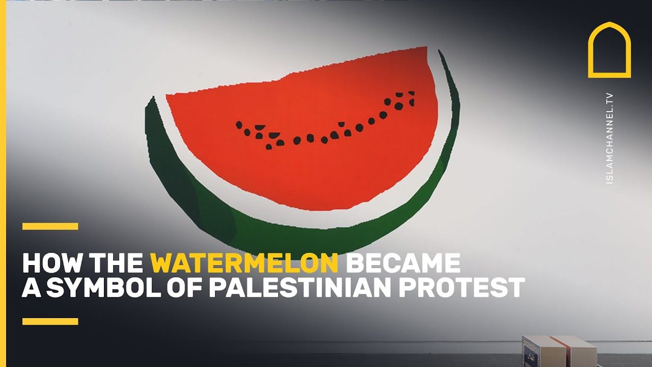 How the watermelon 🍉 became a symbol of Palestinian protest 🇵🇸