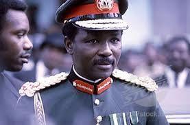 General Yakubu Gowon, erstewhile Nigerian  military head of state.