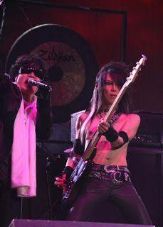 Toshi and Heath. X Japan