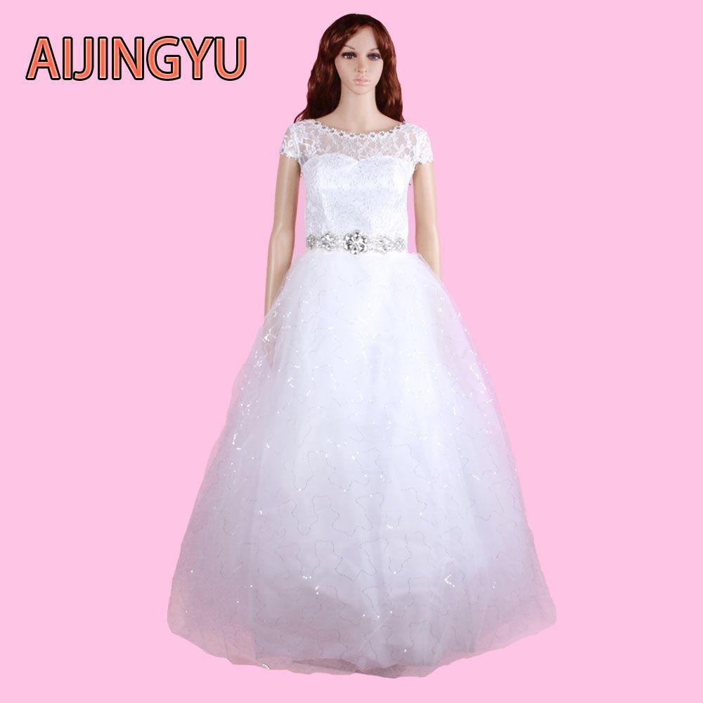 Click to Buy ucuc AIJINGYU  new free shipping china bridal gowns