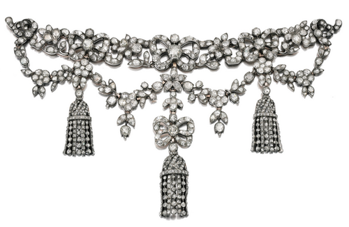 Devant De Corsage Late 18th Century Sotheby S Antique Jewelry Jewelry Collection Jewelry