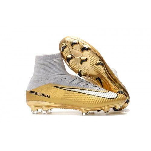 save off 8bf26 59e10 Nike Mercurial Superfly CR7 Quinto Triunfo FG Golden Ball støvler ...