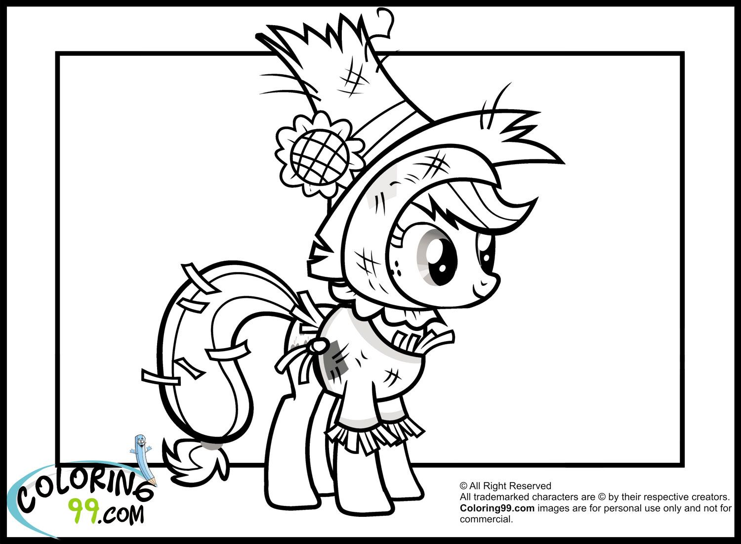 Uncategorized Costume Coloring Pages applejack in nightmare moon night costume coloring pages jpg 1500 pages