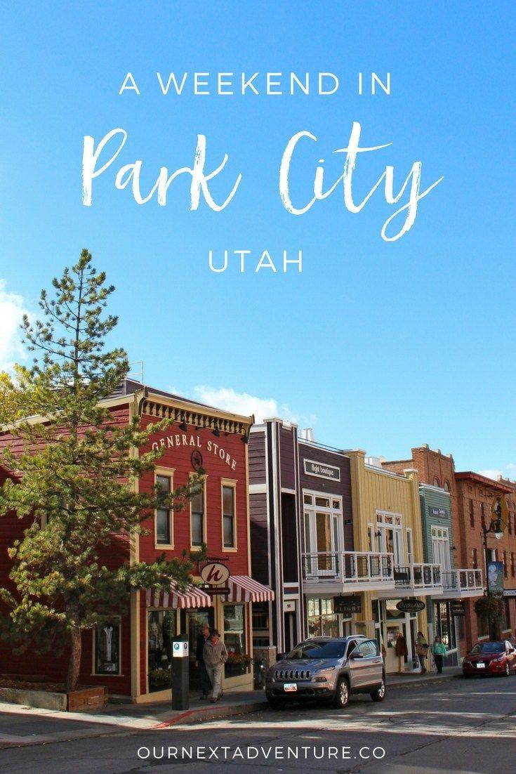 A Fall Weekend in Park City, Utah