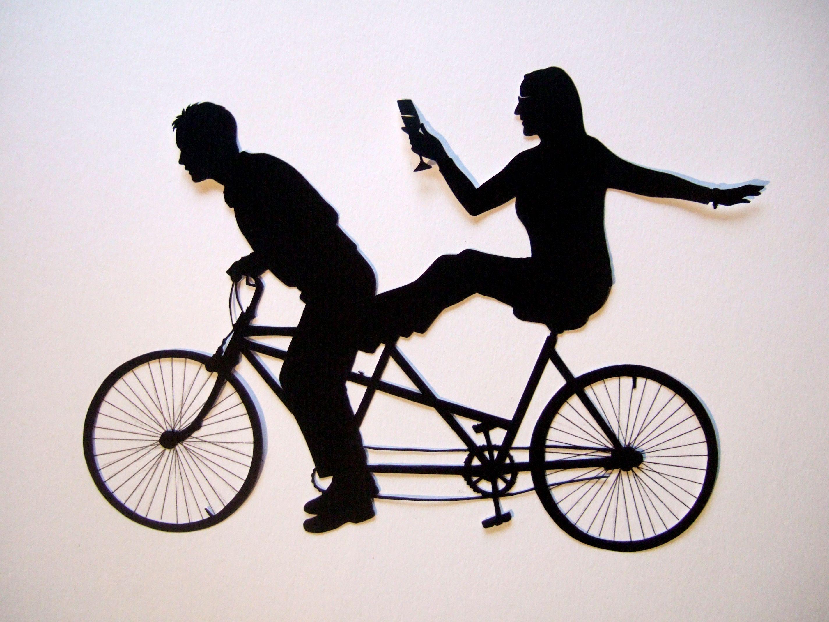 tandem mountain bike clipart - Google Search  b9381c1c8
