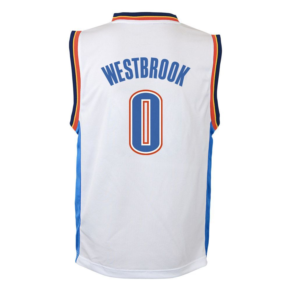 Boys 8-20 Oklahoma City Thunder Russell Westbrook Replica Jersey ... 404ad4e16