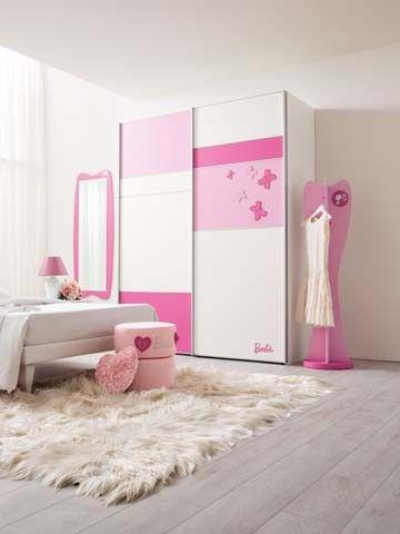Composiciones Para Cuarto De Nina Barbie Diamond 120 Muebles De - Armarios-para-nia