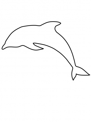 Dolphin Activities Template Dolphins Dolphin Painting Templates