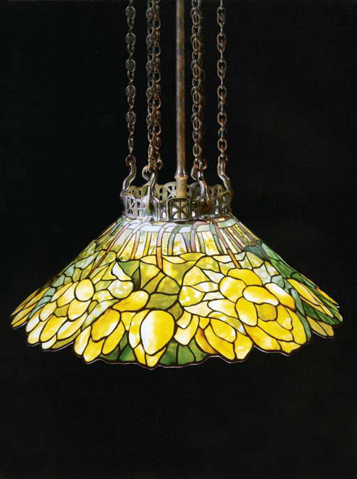 Tiffany lotus chandelier pinteres studio lamp tiffany lotus chandelier aloadofball Gallery