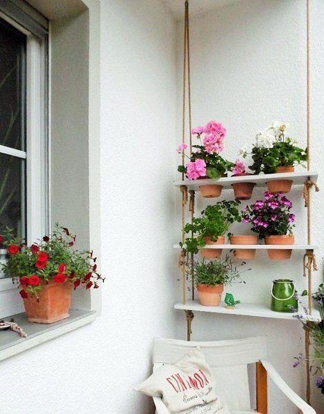 12 einfache DIY-Ideen für den Balkon #DIY Pinterest Outdoor - markisen fur balkon design ideen