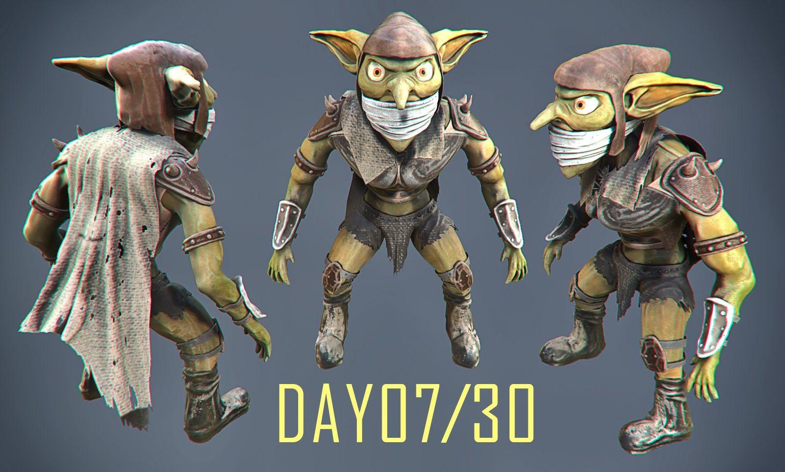 DAY07 / 30 Day 3D Sculpt Challenge - 3D-Coat | 3DCoat | 3d coat