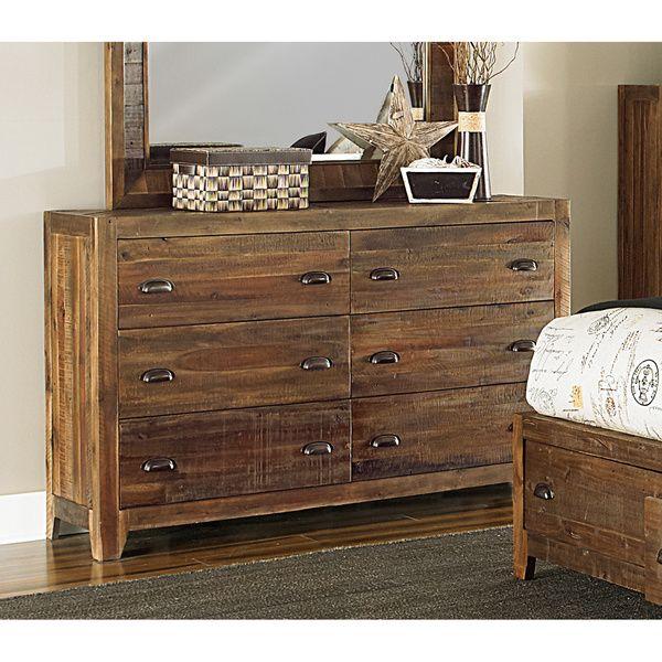 Best Deal Home Furniture: Magnussen River Ridge Wood 6-drawer Dresser