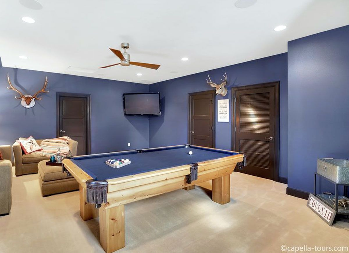 The 10 Best Colors For A Brighter Basement Basement Paint Colors Basement Painting Basement Colors